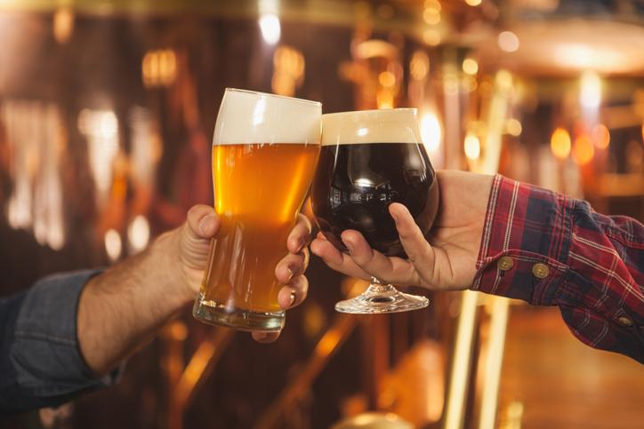 Brinde cerveja artesanal
