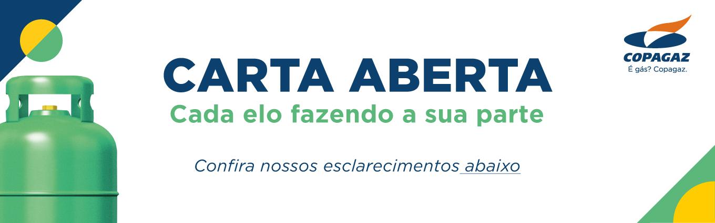 Banner Carta Aberta