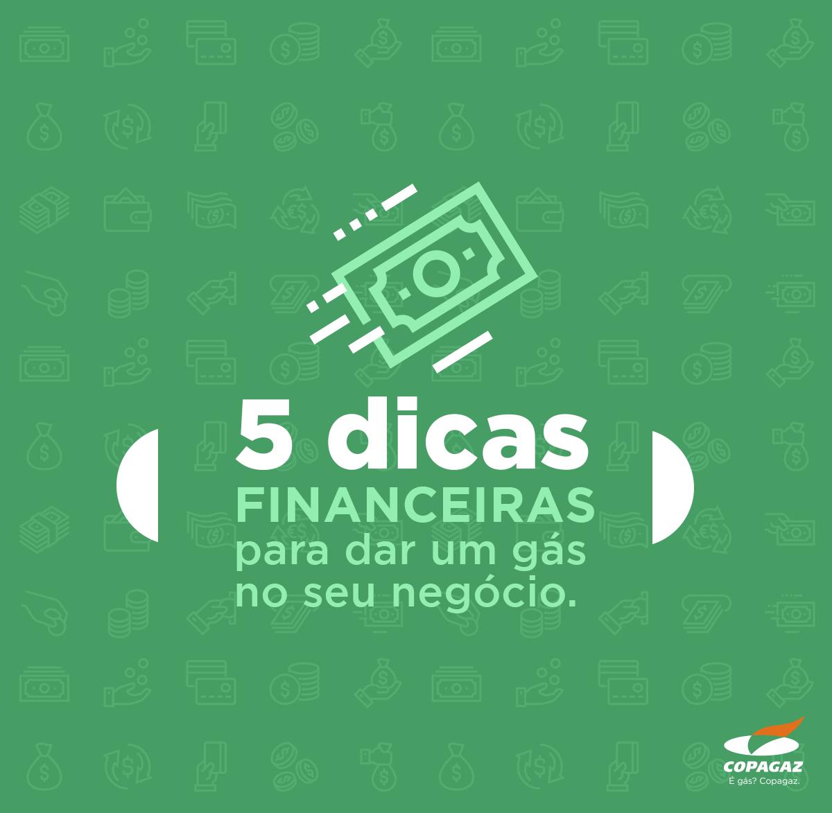 5 dicas financeiras