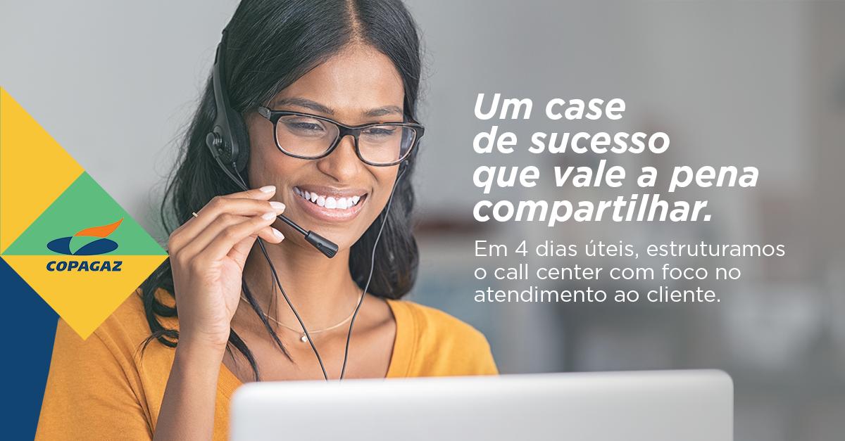 Case de sucesso: call center