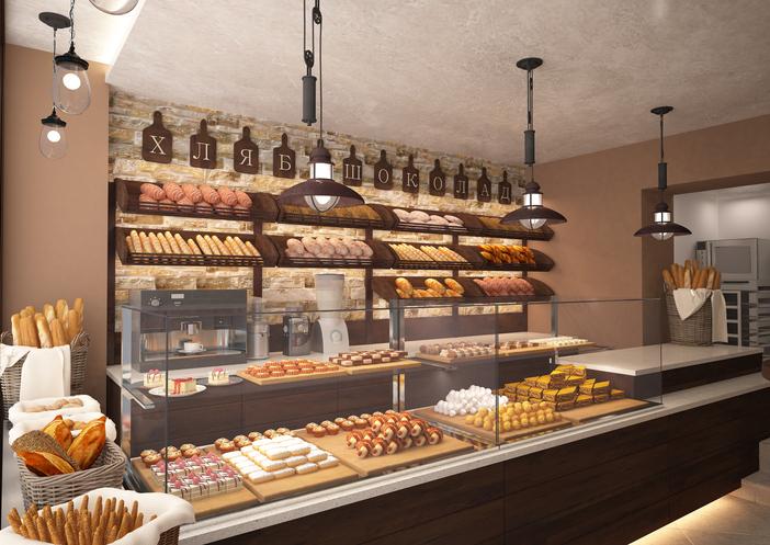 Equipamentos para padaria: Foto de uma padaria